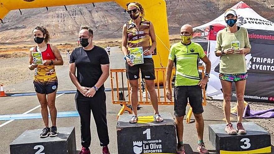 Àngels Llobera vence en la Tababaire Trail en Fuerteventura