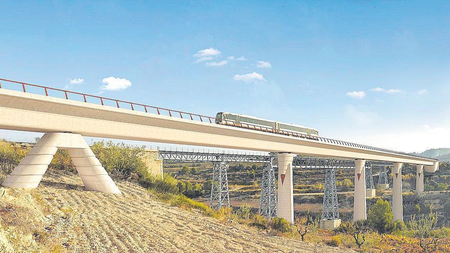 Vía libre al viaducto de 12 millones que permitirá que el tren vuelva a Dénia en 2023