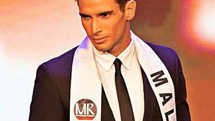 Un estudiante de INEF malagueño, nuevo Mister España Internacional