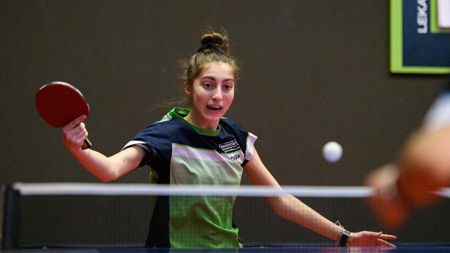 Eugenia Sastre disputará el Europeo sub-19 de tenis de mesa