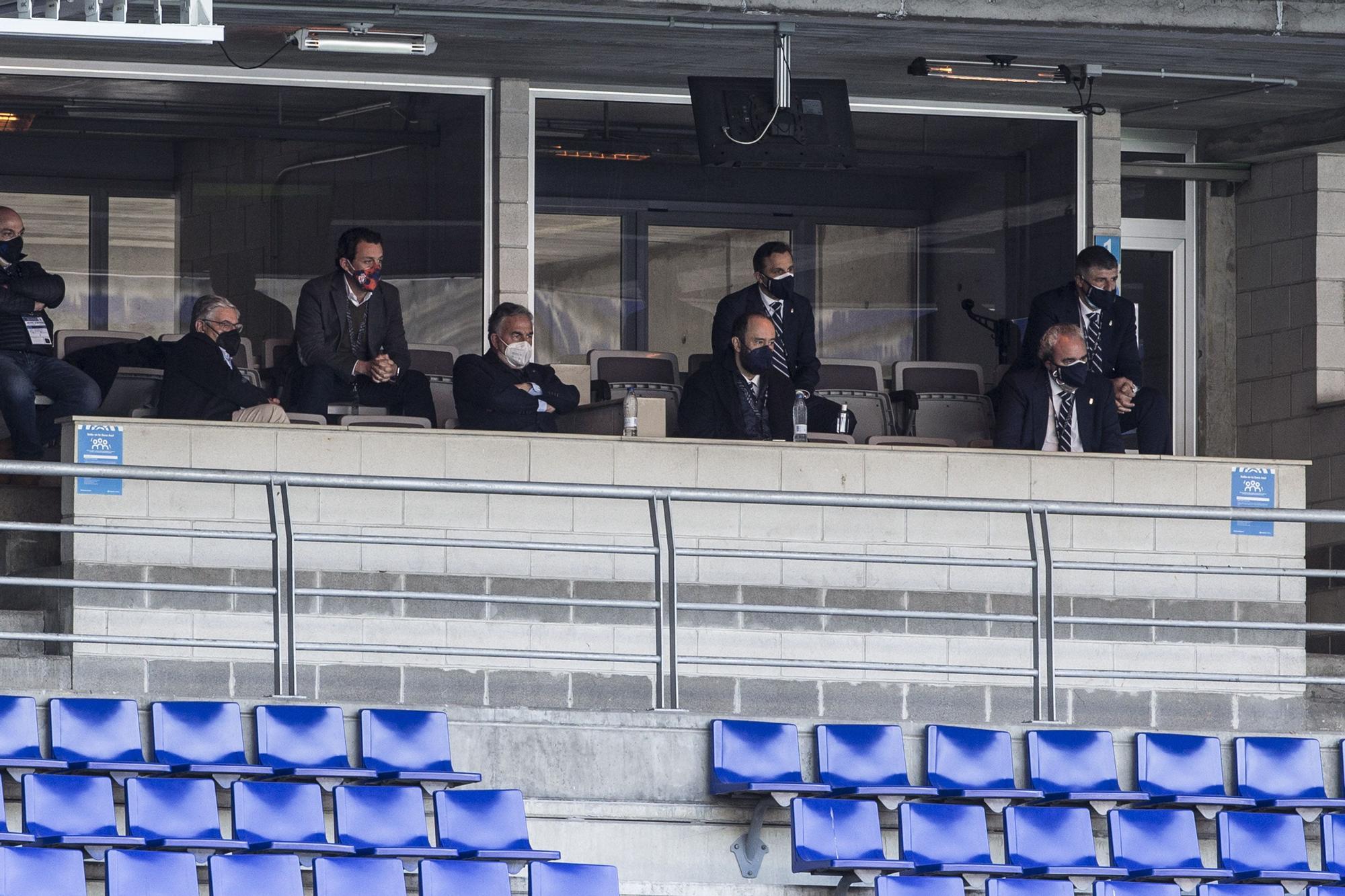 El partido entre el Real Oviedo y la Ponferradina, en imágenes