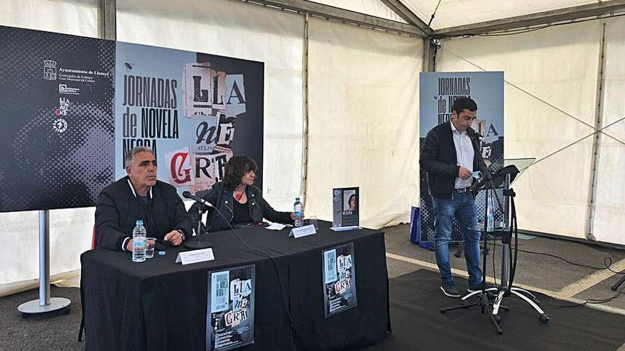 Llanera estrena su semana de literatura negra con Rosa Montero