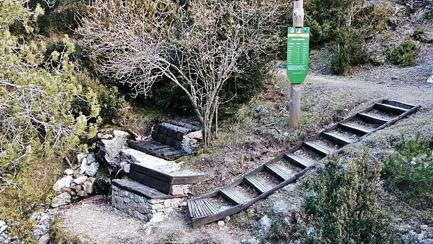 Urús i el Parc Natural del Cadí arreglen les zones d'oci i ramaderia del terme