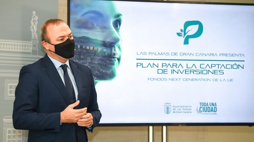 Las Palmas de Gran Canaria quiere captar 1.200 millones de Europa para 283 proyectos verdes