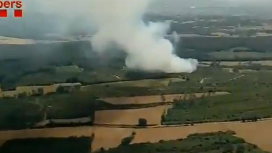 Interior alerta del risc d'incendi al litoral de Girona