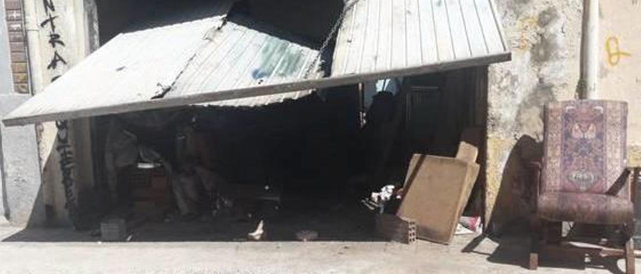 «Narcosala» del Cabanyal denunciada por Zero Incívics.