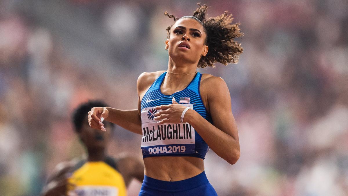 Sydney McLaughlin.
