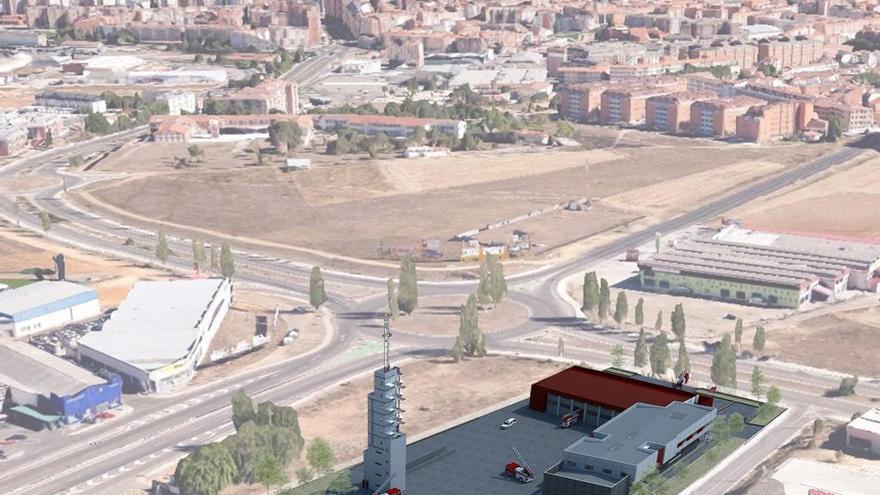 El Ayuntamiento de Zamora habilita 81.000 euros para iniciar la obra del parque de bomberos