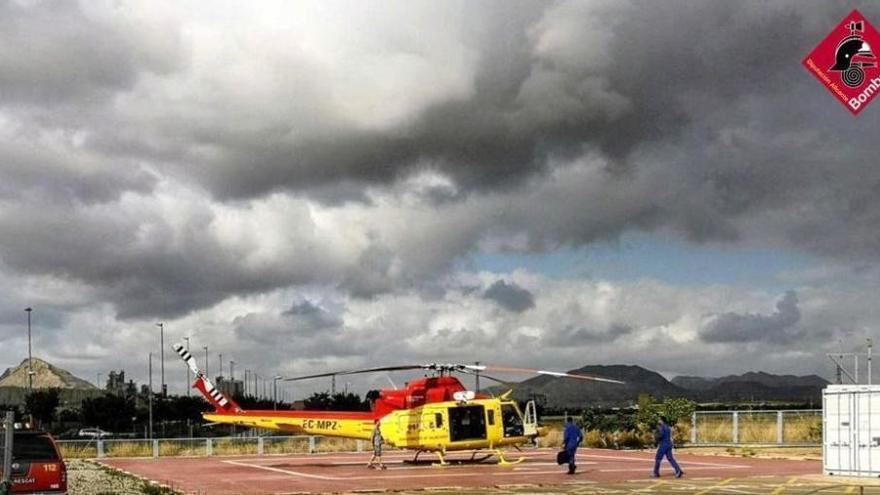 Rescatan a un hombre de 68 años  a cien metros de la cima del Puig Campana