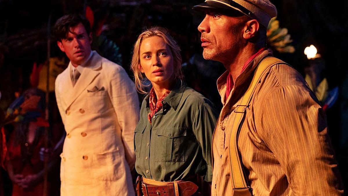 El duet format per Dwayne Johnson i Emily Blunt és un dels atractius de la pel·lícula | DISNEY ENTERPRISES