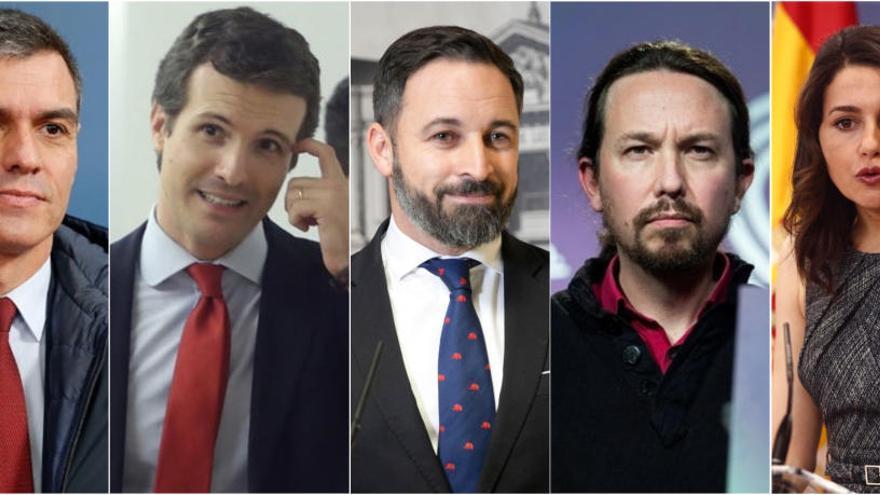 Quants diners tenen els líders polítics espanyols?