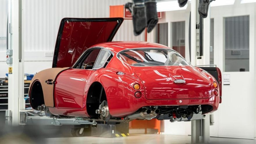 DB4 GT Zagato Continuation: El modelo más caro de Aston Martin