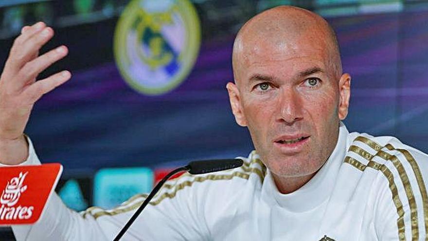 """Zinedine Zidane: """"No soy de los que presume delante de los jugadores"""""""