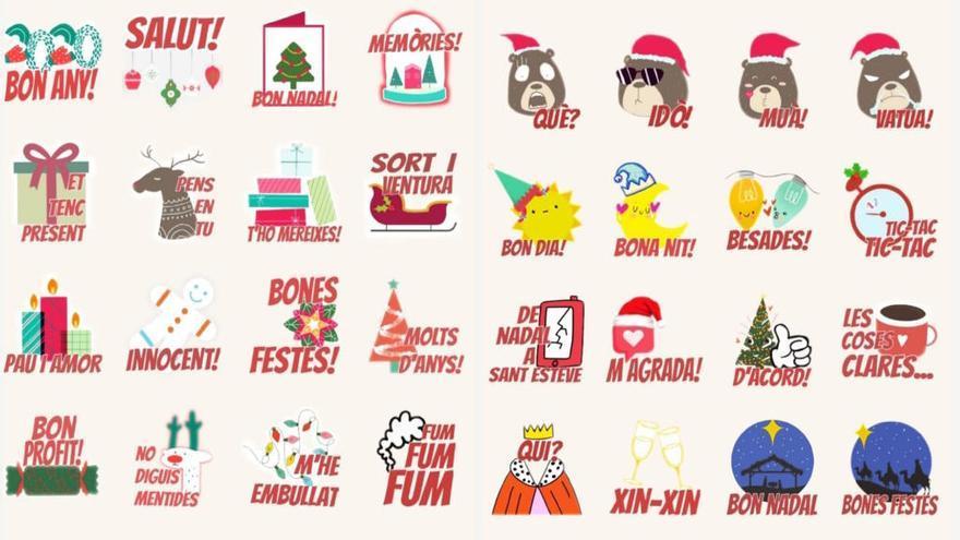 Las felicitaciones de Navidad más mallorquinas, ahora para WhatsApp