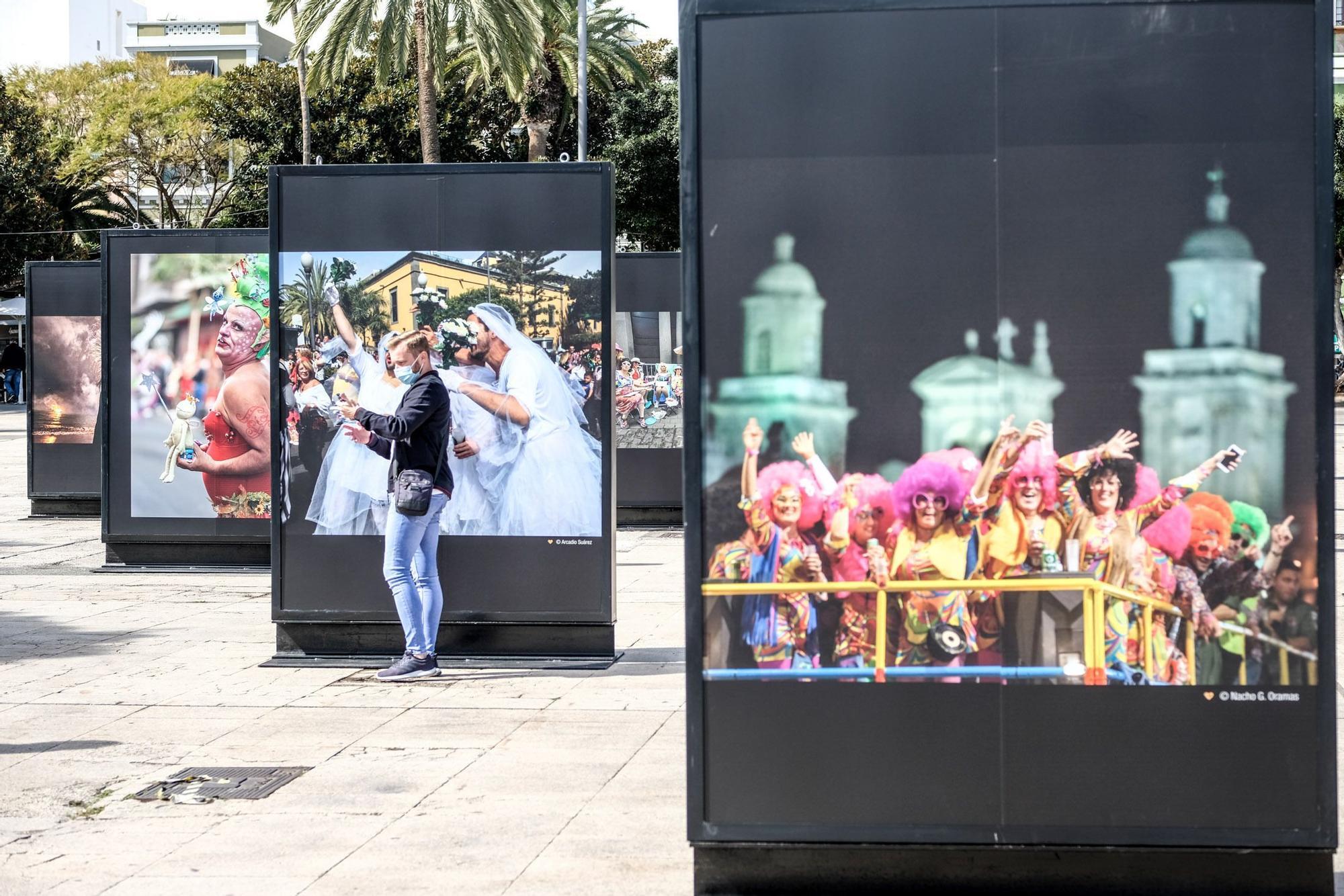Exposición con fotos del Carnaval en el Parque Santa Catalina