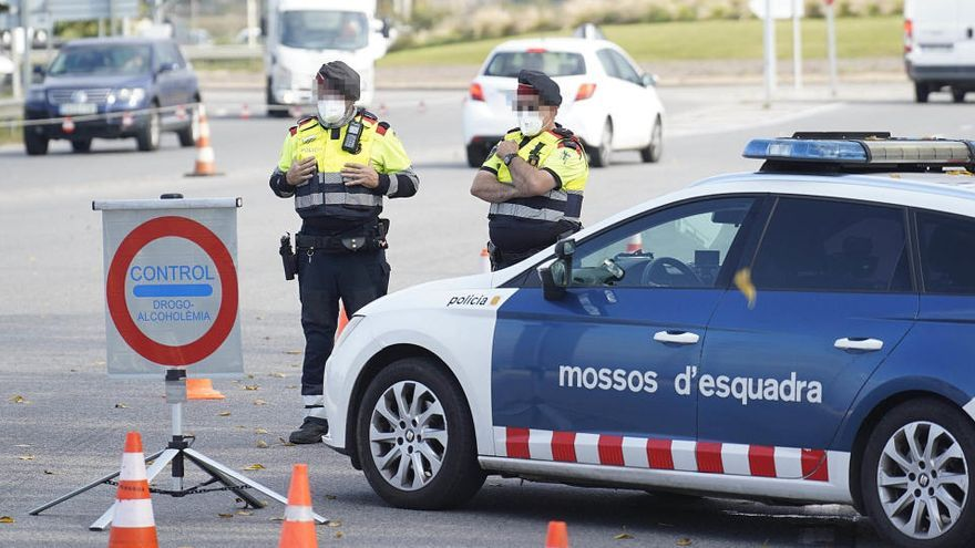Els Mossos reforçaran els controls per fer complir el tancament perimetral de Catalunya