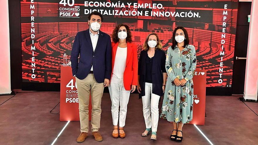Las reformas fiscal y laboral, bazas del PSOE para su 40.º congreso