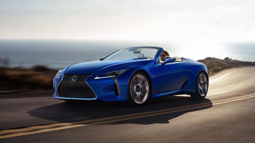 Lexus LC Cabrio, bellesa i esportivitat a cel obert
