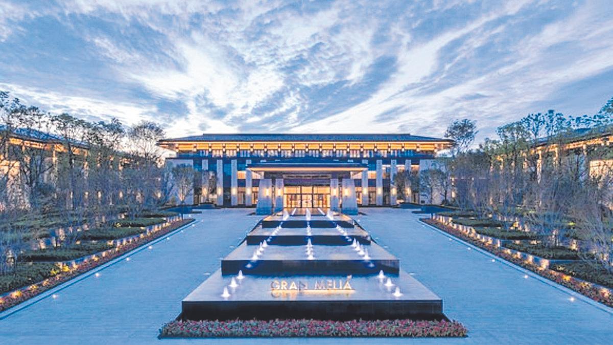 Hotel Meliá en Chengdu.