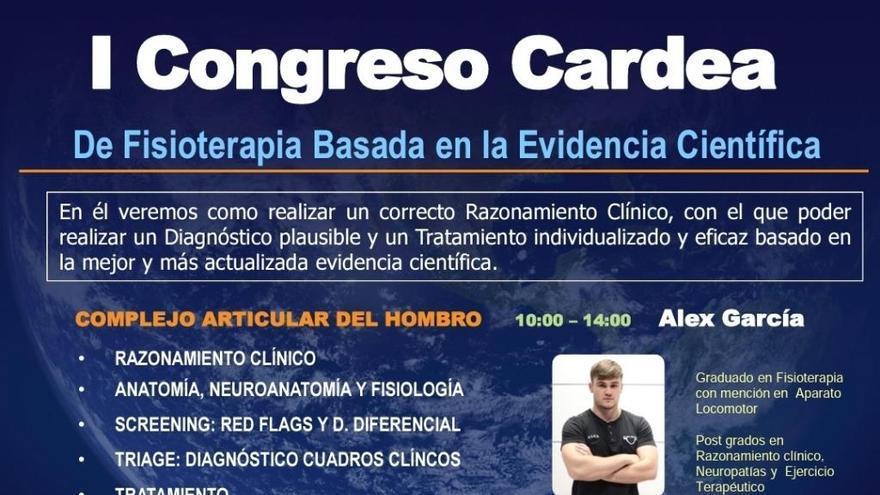 El I Congreso Cardea de Fisioterapia basada en la evidencia científica abre sus puertas