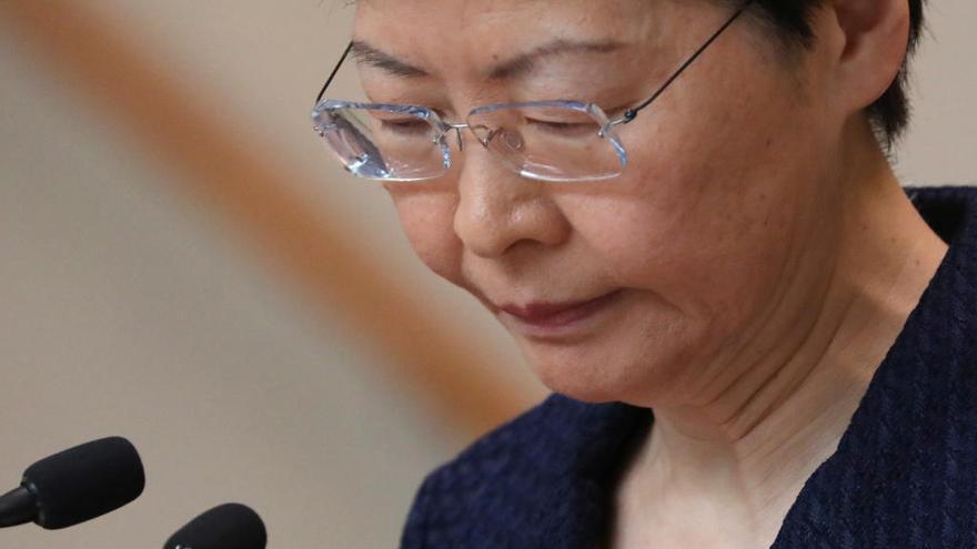 """El Gobierno de Hong Kong anuncia una """"plataforma de diálogo"""""""