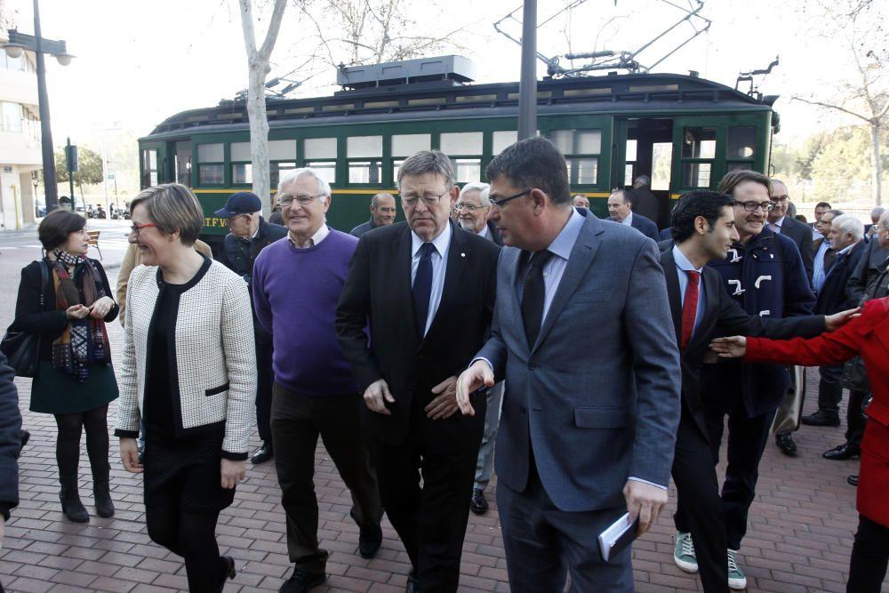 Exposición por el 30º aniversario de Ferrocarrils de la Generalitat