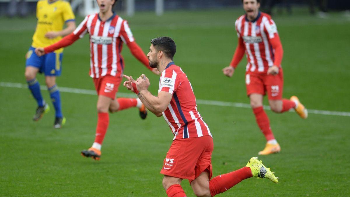 El Atlético vuelve a ganar y sigue lanzado en La Liga