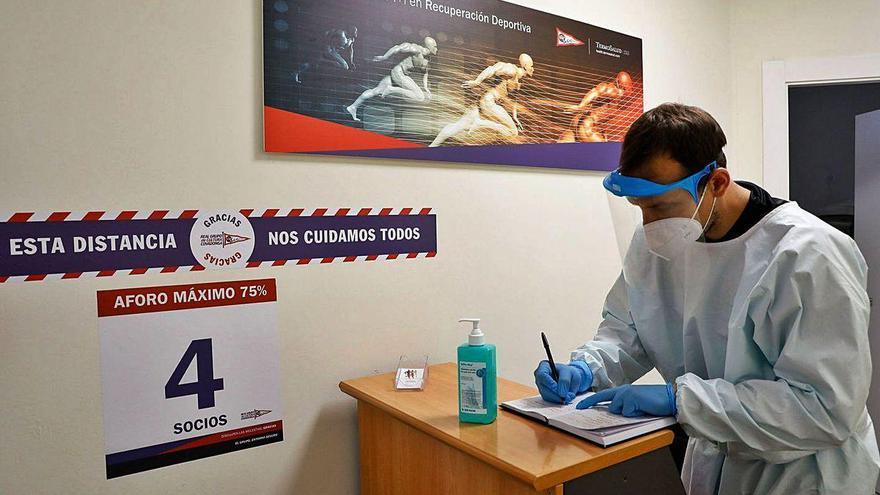 Sesiones de fisioterapia en tiempos de pandemia