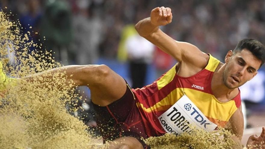 Torrijos se estrena en la final de un Mundial con el décimo puesto