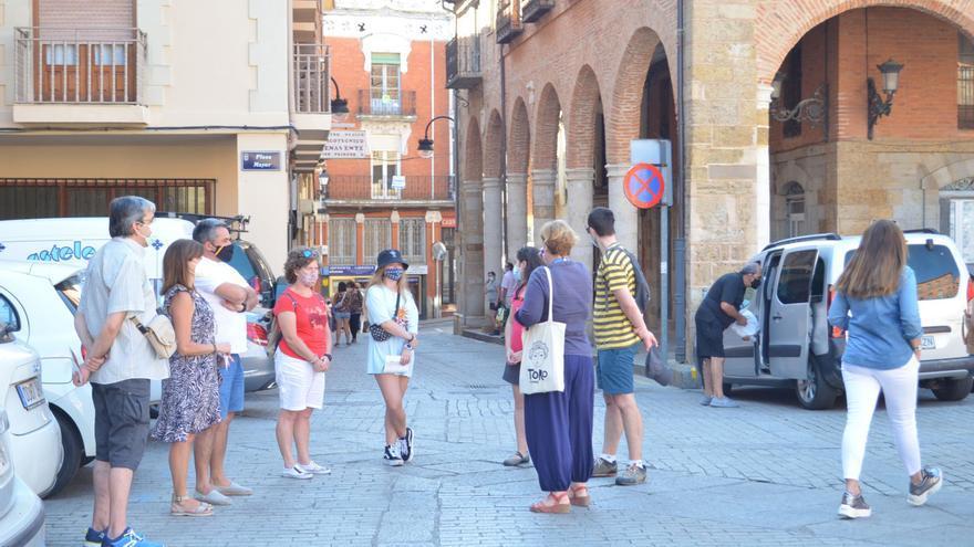 El turismo moderó su caída en Zamora en agosto, pero aún así se quedó en la mitad de un año normal