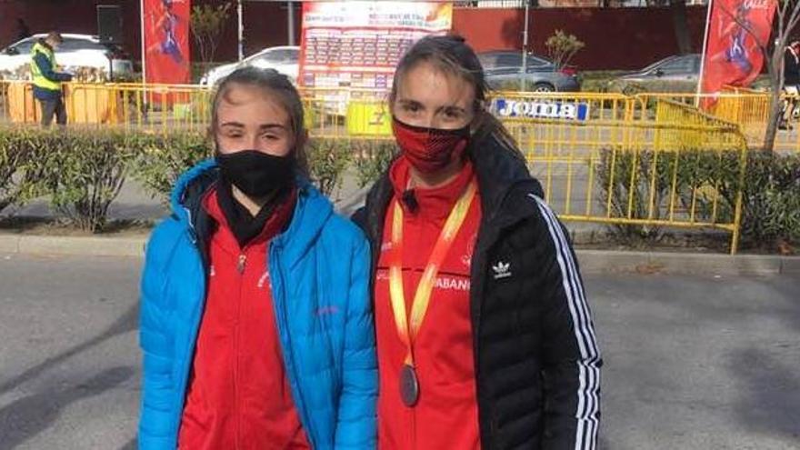 Iria Rivas se proclama subcampeona de España de 5 kilómetros marcha