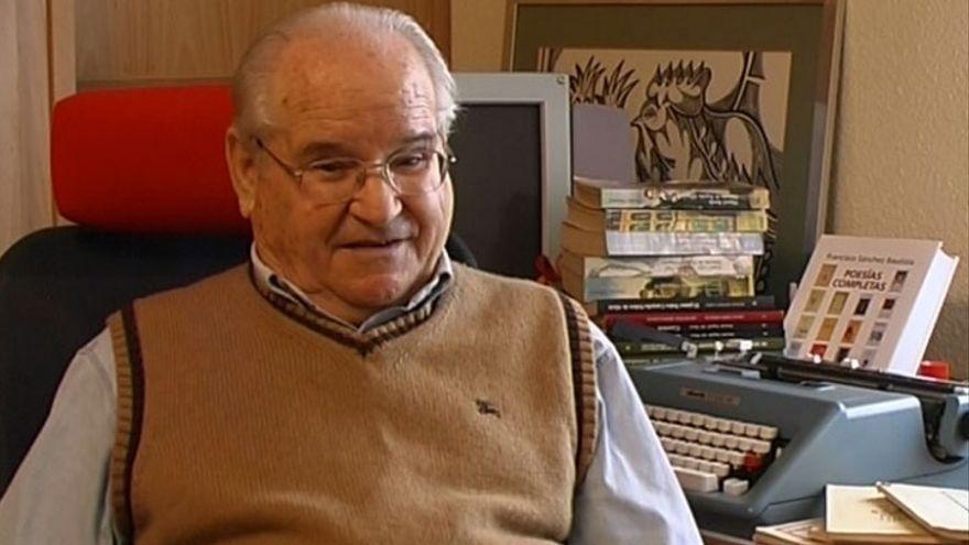 Muere a los 96 años el poeta murciano Francisco Sánchez Bautista