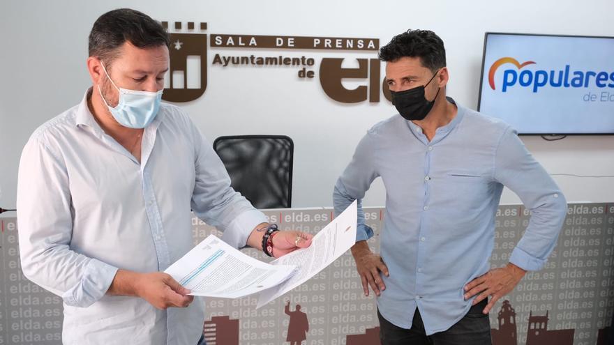 El PP denuncia el retraso del Edificant en Elda con solo una obra en marcha de 20 centros