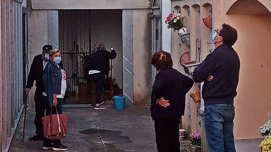 Visitas escalonadas en los cementerios de Mallorca