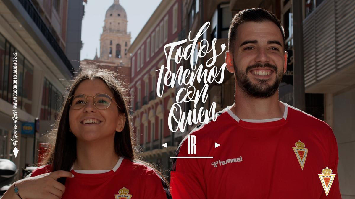 Campaña de abonos del Real Murcia en Segunda RFEF.