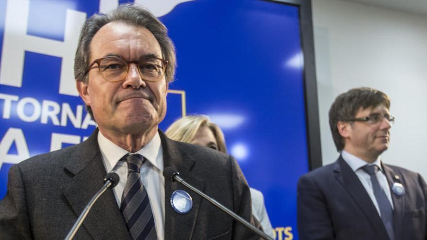 El Tribunal de Cuentas reclama cinco millones a Mas y otros excargos por el 9-N