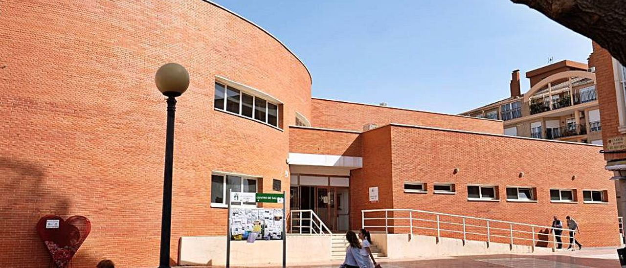 El centro de salud Petrer II. | ÁXEL ÁLVAREZ