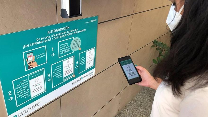 Quirónsalud Málaga desarrolla un sistema para ir de casa a la consulta sin esperas