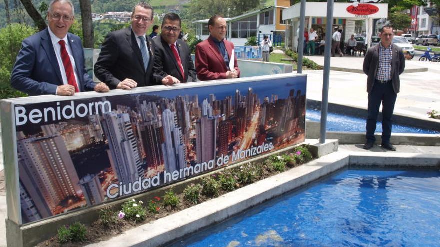 Benidorm ya tiene una plaza en Manizales