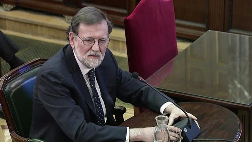 """Rajoy: El Govern sabía que """"no autorizaría un referéndum"""""""