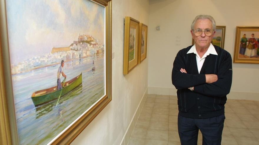 Muere a los 94 años el pintor y fundador de Aspanadif Antonio Prats Calbet