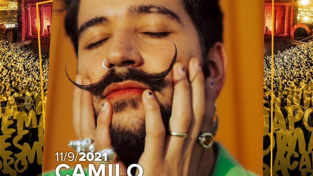 Camilo actuará el 11 de septiembre en el teatro romano.