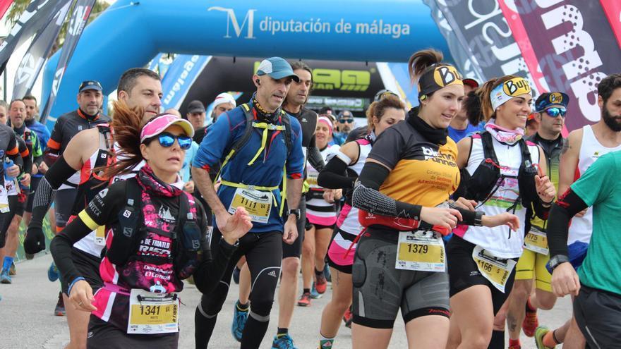 Más de 900 corredores disputan en Alhaurín la final de la Copa de España de Carreras por Montaña