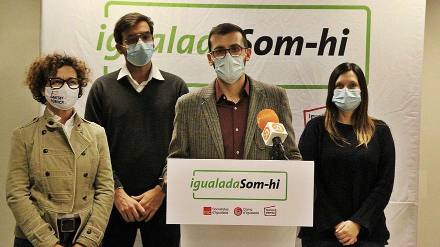 Som-hi Igualada anuncia el seu acord per votar el pressupost de Castells