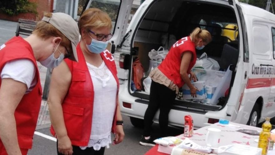 La pandemia dispara la ayuda alimentaria en Langreo: cien familias más en un año