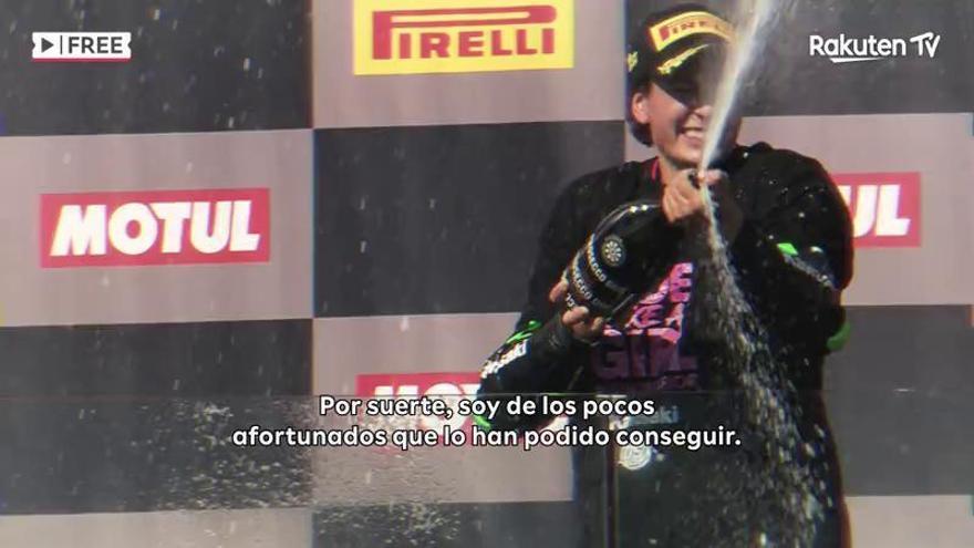 Un documental recorre la vida de Ana Carrasco, la primera mujer campeona del mundo