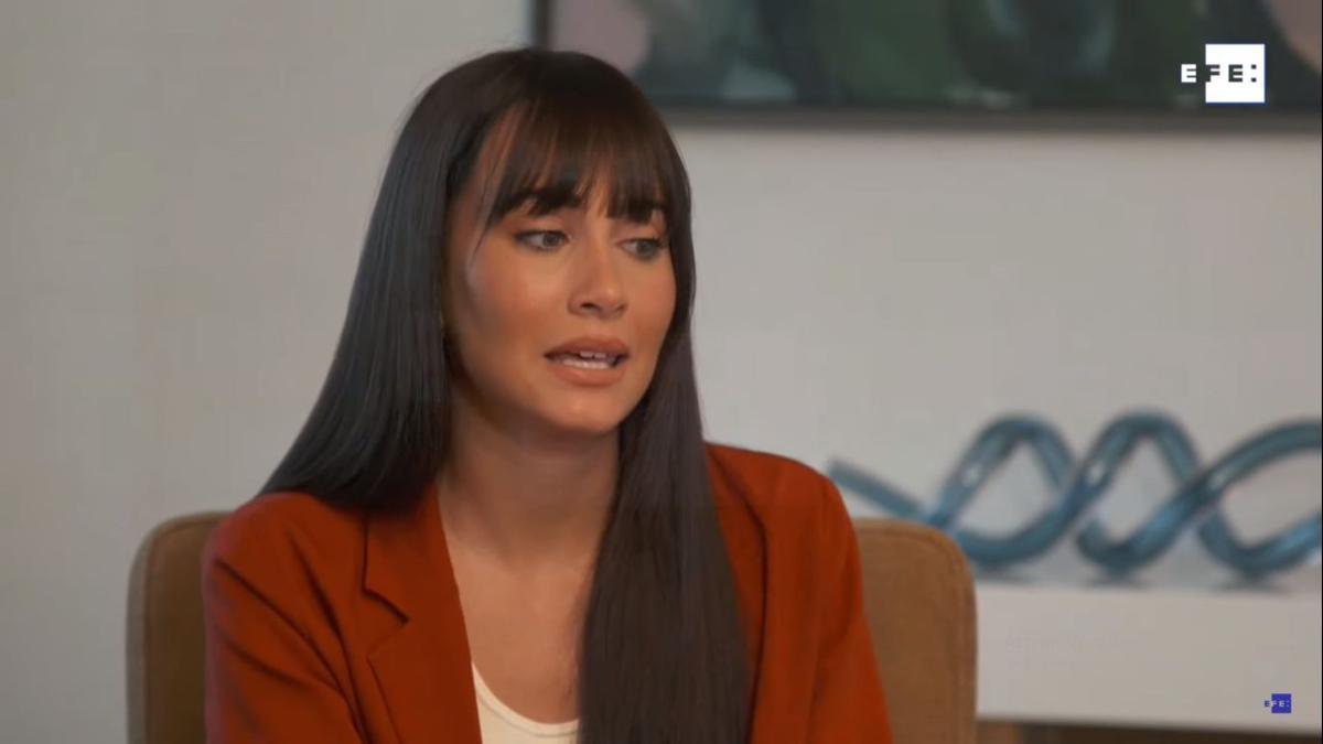 Aitana Ocaña para la entrevista a EFE.