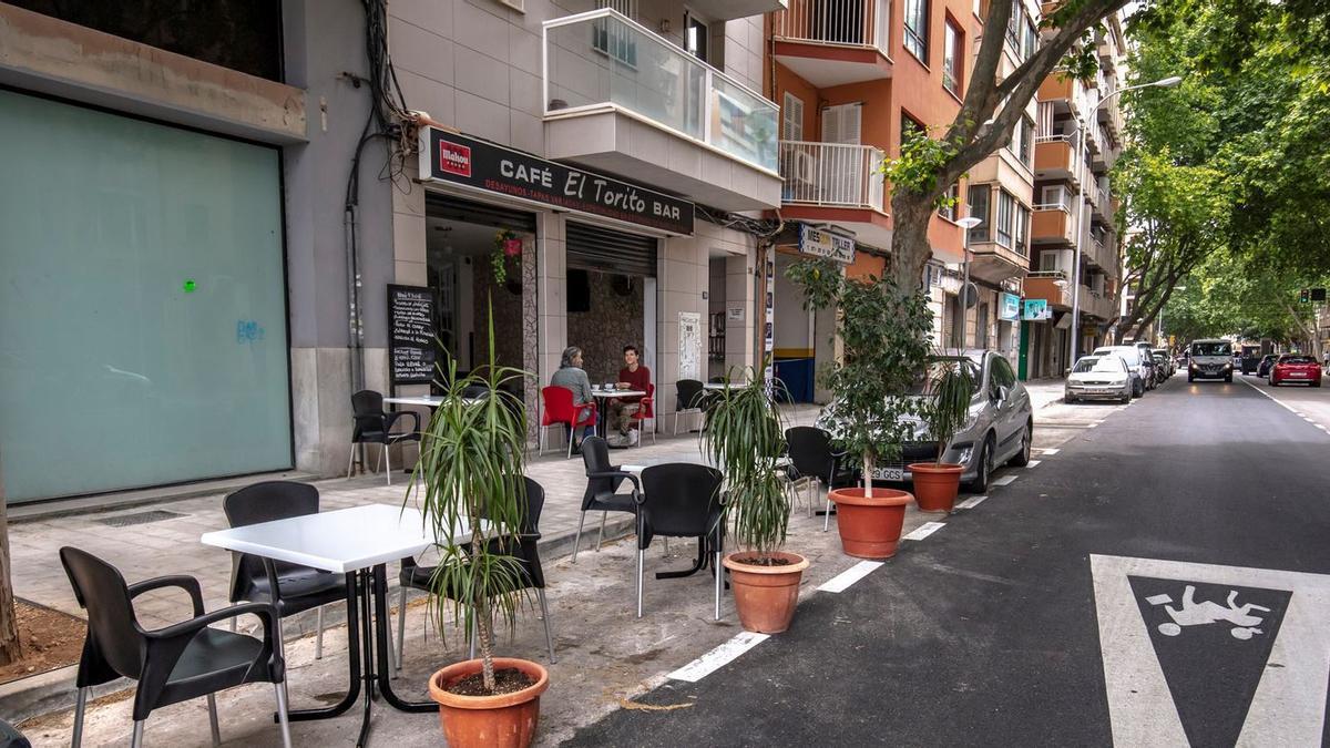 Las terrazas de los aparcamientos deberán estar desmanteladas el día uno de octubre.