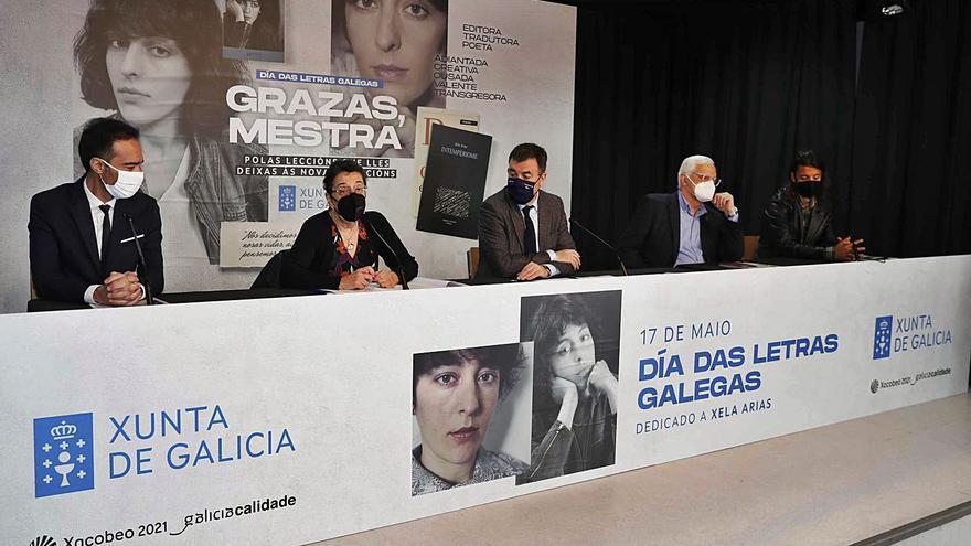 Medio centenar de actividades divulgarán o legado de Xela Arias por toda Galicia