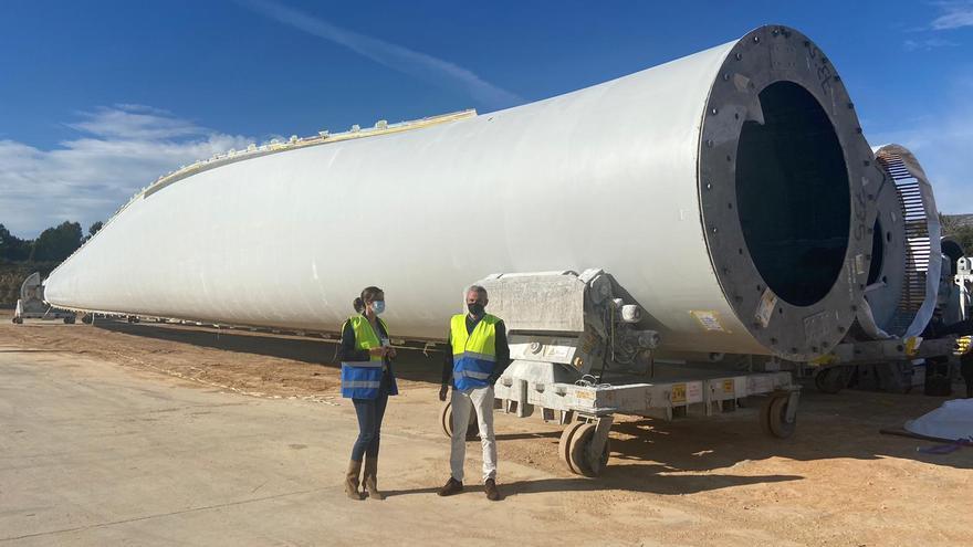 La fábrica de palas de aerogeneradores de les Coves sumará a 20 trabajadores procedentes de la planta de Ponferrada